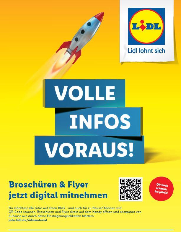 Informationsbroschüre Lidl - Foto/Abbildung: Judith Nürenberg
